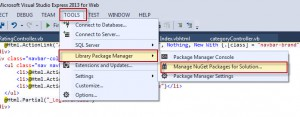 How to add Nuget Packages